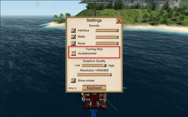 The Pirate: Caribbean Hunt – Basic Manual