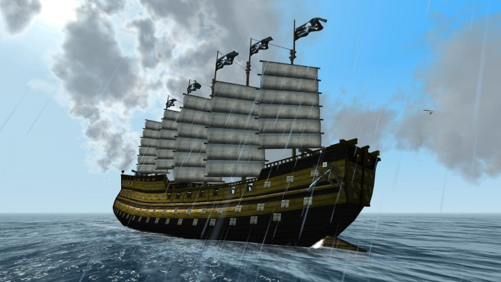 Two years of The Pirate: Caribbean Hunt – free premium ship and the new update