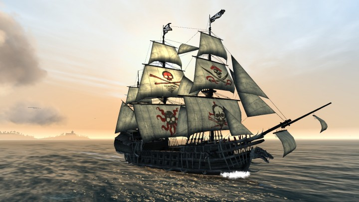 Figureheads and full sails customization in The Pirate: Plague of the Dead are now available